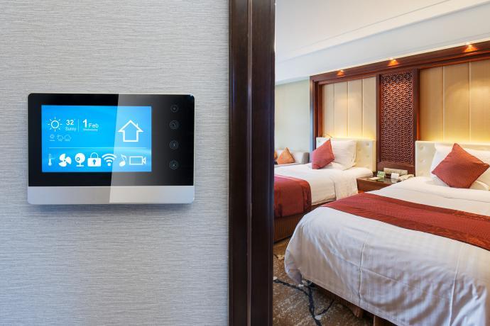 هوشمند سازی هتل - smart hotel