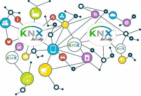 سیستم KNX و اینترنت اشیاء ، خانه هوشمند IOT ، ساختمان هوشمند IOT ، هوشمند سازی ساختمان IOT