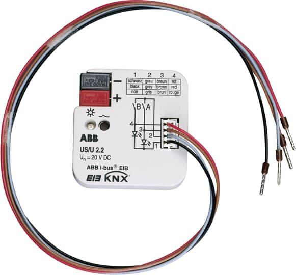 رابط یونیورسال2 KNX ، هوشمند سازی ساختمان ماژول رابط یونیورسال KNX