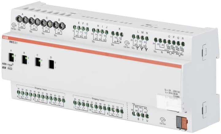 مستر کنترلر اتاق در هوشمند سازی ساختمان، master controller knx