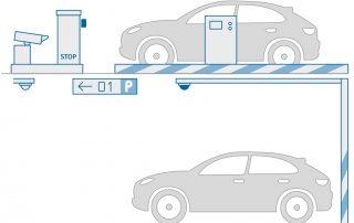 سیستم راهنما و پرداخت پارکینگ هوشمند