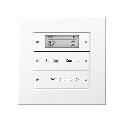 صفحه کلید 6 حالته KNX از Gira با کنترل دما
