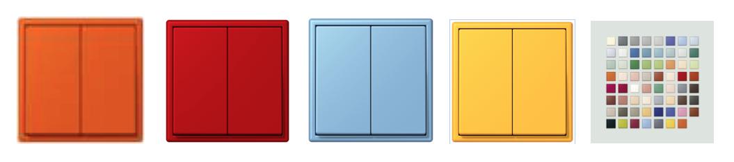 کلید دوپل هوشمند KNX ، کلید چهار پل هوشمند KNX ،کلید تک پل هوشمند KNX