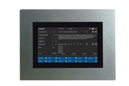 کنترل پنل هوشمند MDT VISUCONTROL ، کنترل پنل 7 اینچی