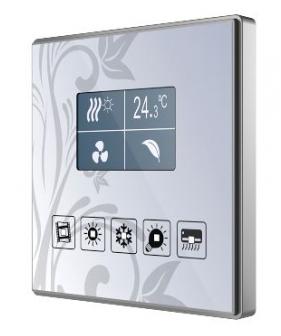 کلید هوشمند Zennio - SQUARE TMD-DISPLAY