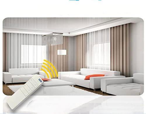 پرده هوشمند خانه هوشمند 10