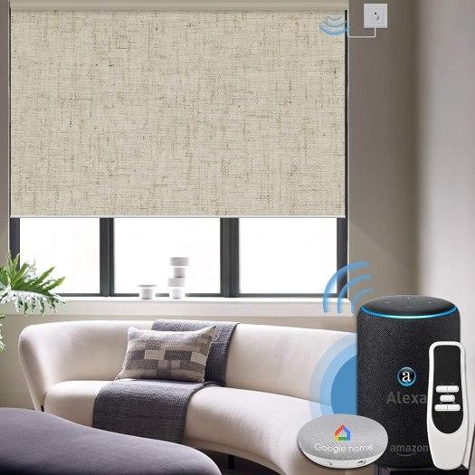 پرده هوشمند خانه هوشمند 7