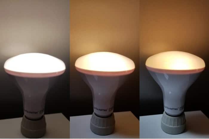 مقایسه روشنایی هوشمند متناسب با دما