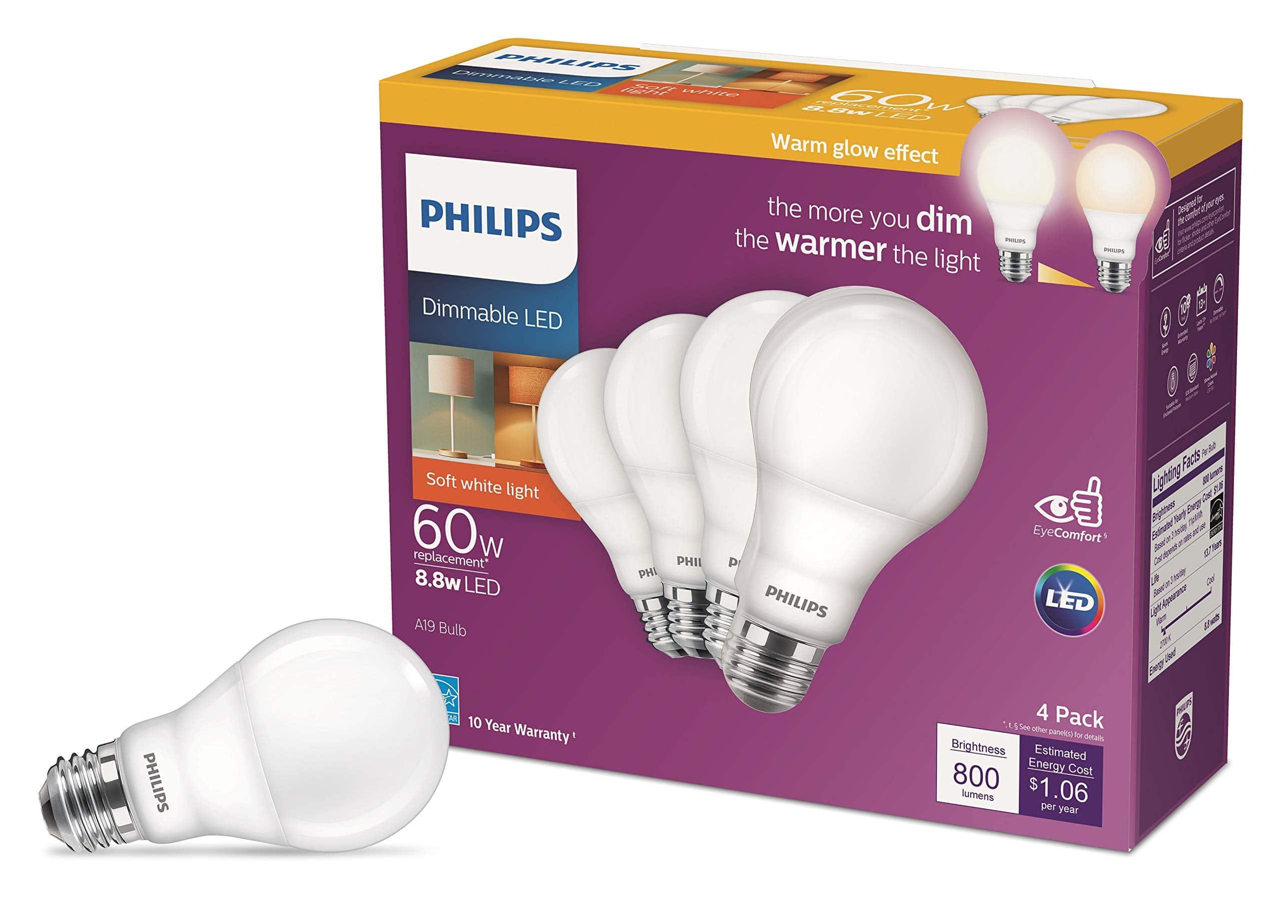 کنترل روشنایی هوشمند با دما فیلیپس